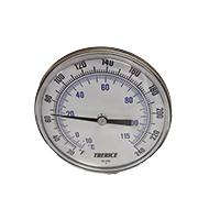 "Temperature Indicator, 20-240°F, 6"" lg. for water bath"